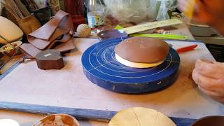 Make a Hand Built Spoon Rest Using a Template, a Clay Slab and a Plaster Mold