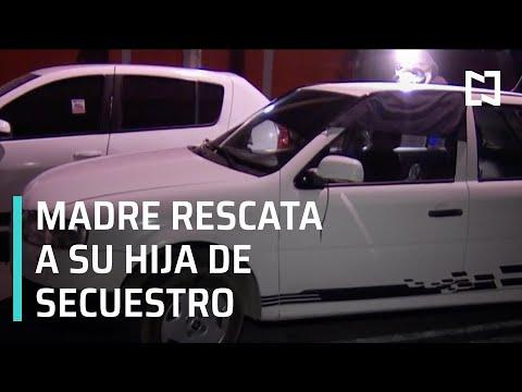 Madre rescata a su hija de un presunto secuestro en la CDMX - Las Noticias con Hurtado