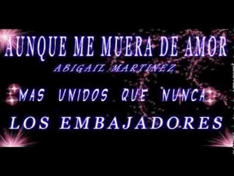 AUNQUE ME MUERA DE AMOR LOS EMBAJADORES VALLENATOS.mp4