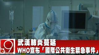 武漢肺炎蔓延 WHO宣布「國際公共衛生緊急事件」《9點換日線》2020.01.31