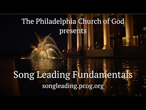 Song Leading Fundamentals: Counting and the Downbeat