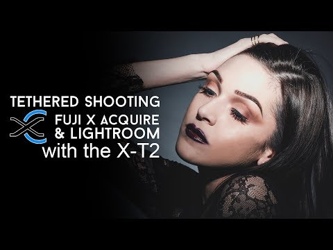 Tethered shooting with the X-T2 & Fujifilm X Acquire - in4k