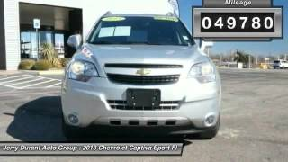 2013 Chevrolet Captiva Sport Fleet Weatherford TX QDS603480 Video