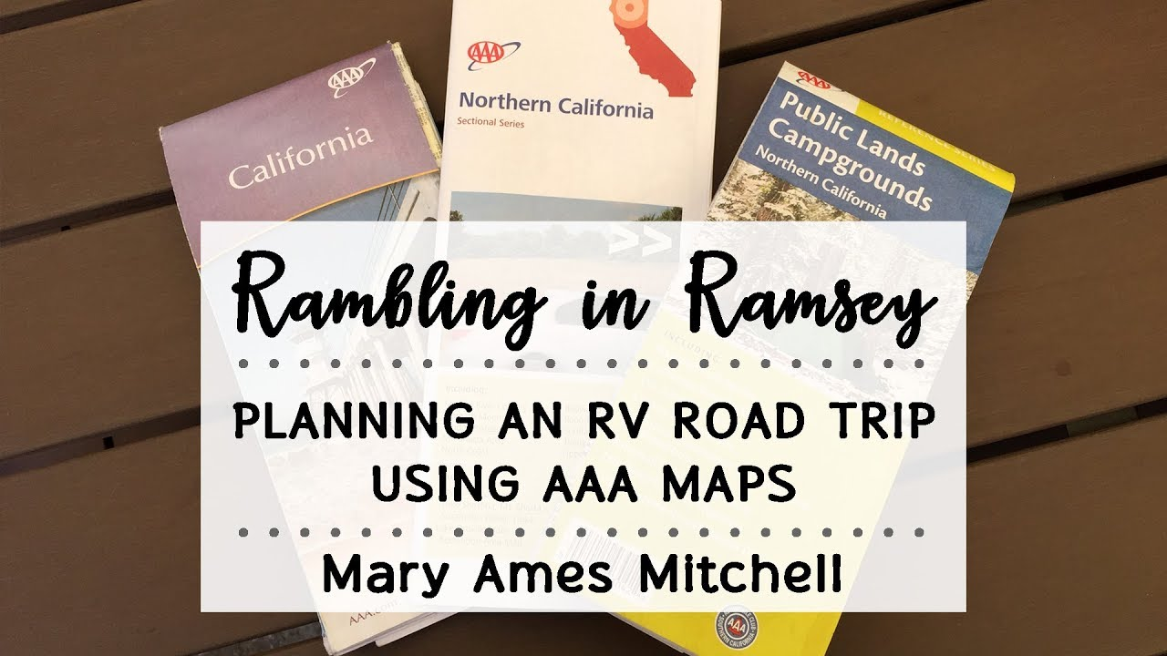 Planning An Rv Road Trip Using Aaa Maps Public Lands Campgrounds