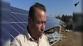 طرطوس السورية تحتضن أكبر مشروع سوري لتوليد الكهرباء الشمسية (فيديو)