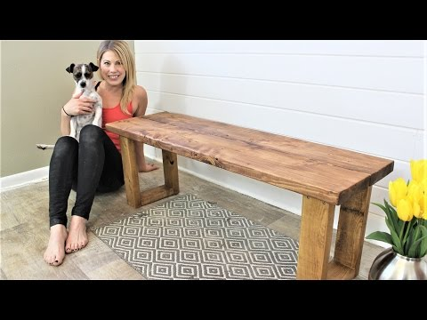 The $15 Fifteen Minute Bench – DIY Project
