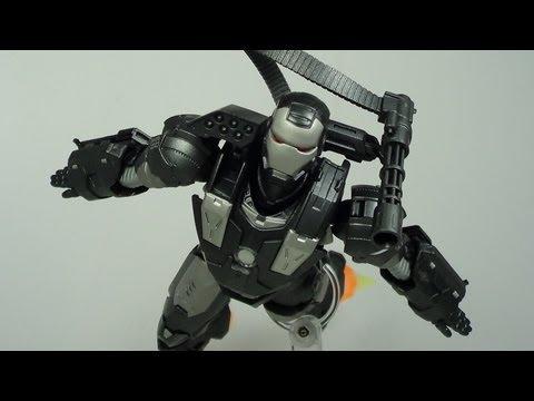 SH Figuarts War Machine Iron Man 2 Movie Figure Review