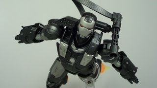 SH Figuarts War Machine Iron Man 2 Movie Figure Review