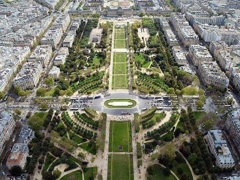 Places to see in ( Paris - France ) Parc du Champ de Mars