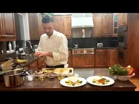 Organic chef Andrew Diemer: steam appetizer part 2