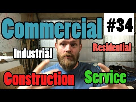 Episode 34 - Construction vs Service and The Different TYPES of Electrical Work You Can Do