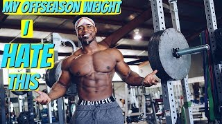 My Offseason Weight Plans | THIS Annoys Me..