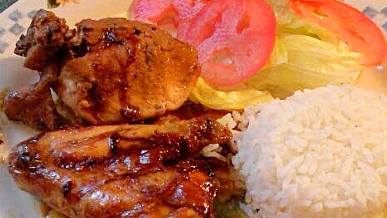 pollo con salsa china