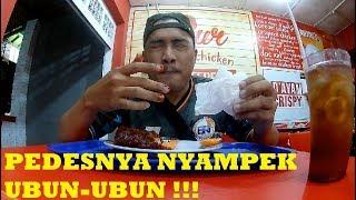 MUKBANG   CHALLENGES Makan Ayam Pedas LEVEL 5   Klaten