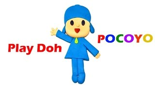 Play Doh Pocoyo, How to make Pocoyo with Play Doh