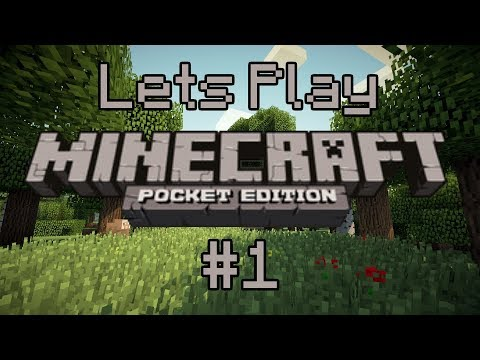 lets play Minecraft PE Survival mode funny moments - part 1