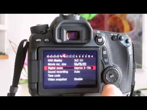 Canon 70D Tip #6: Using Digital Zoom
