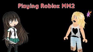 Jugando Roblox MM2 w/ iiAvaDart y Mocheeken (Leer Dic.)