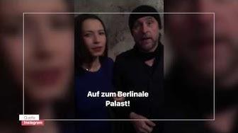 Maxim Mehmet und Bjarne Mädel - Berlinale Tag 1 | ZDFlab unterwegs