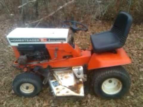 Allis Chalmers Homesteader Lawn Tractor
