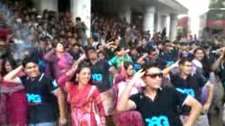 4th Batch, Dept. of Marketing, Jagannath University celebrating Rag Day