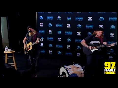 Underoath in the AT&T THANKS Sound Studio