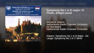 Symphony No.1 in D major: IV. Finale. Allegro assai