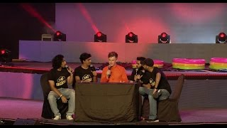 SnG Comedy and Caspar Lee @ YouTube FanFest India 2017