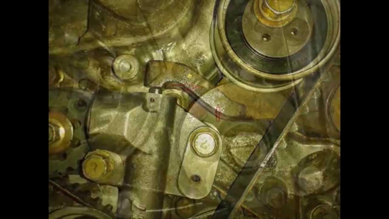 timing marks mitsubishi space gear 2 4l 16v 4g64 pa4w 1996 [ 1280 x 720 Pixel ]