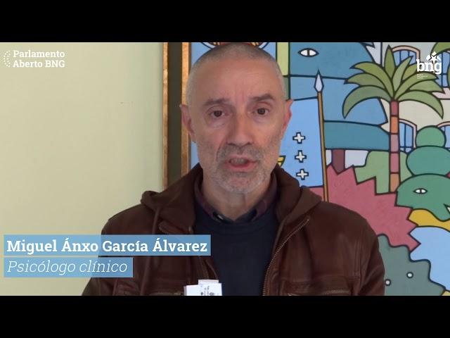 Miguel Anxo García (psicólogo clínico): É necesario outra política de saúde mental