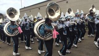 JSU SONIC BOOM MARCHING INTO THE STADIUM HOMECOMING 2015