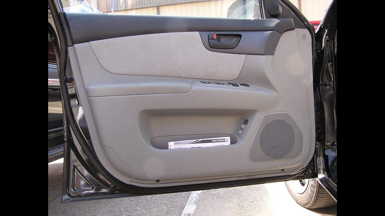 Kia Optima Speaker Removal Front Door