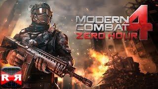 Modern Combat 4: Zero Hour - iOS - iPad Mini Retina Gameplay (First Mission)