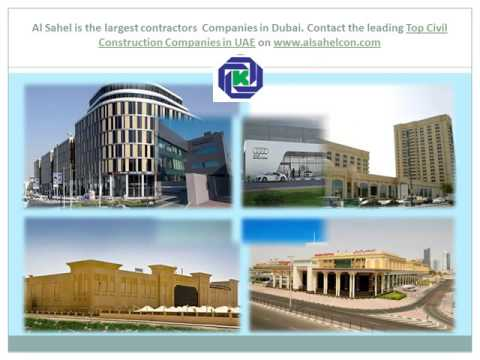 Top Construction Companies in UAE
