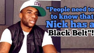 Carlamagne tha god States Nick Cannon Will beat Eminem A$$ and whoever else steps to him (Black belt