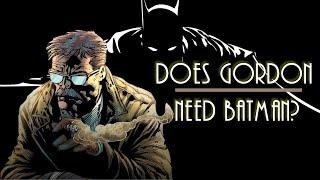 """Batman: Master of Fear"" Backstory--Batman and Gordon"