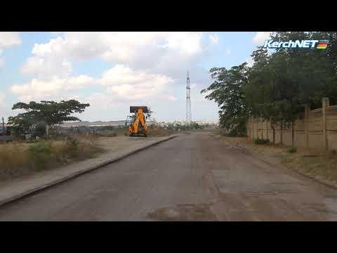 kerchnettv: Стартовал ремонт улицы Мирошника