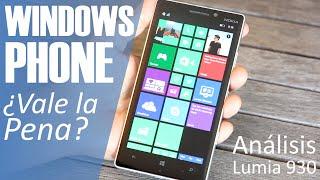 Móviles Windows Phone ¿Comprar o no comprar? (Análisis Lumia 930) | en Español