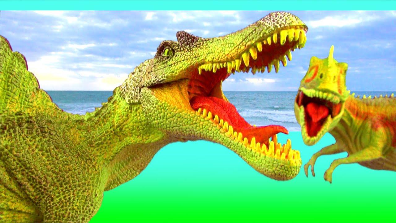 Dinosaur Fight Dinosaurs Battle Spinosaurus vs ...Giganotosaurus Vs Spinosaurus