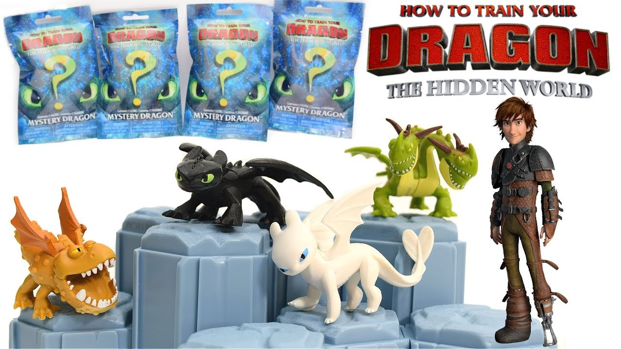 How To Train Your Dragon 3the Hidden World Mystery Dragon Blind