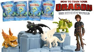How To Train Your Dragon 3:The Hidden World Mystery Dragon Blind Bags UNBOXING/REVIEW, Hacking Codes