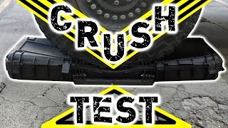 The (Almost) INDESTRUCTIBLE Evike.com Armory Hard Cases - 7 Ton HMMWV CRUSH Test