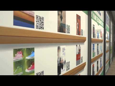 QR Code store by Co-Op in australia sells books to students - Shop2Mobi