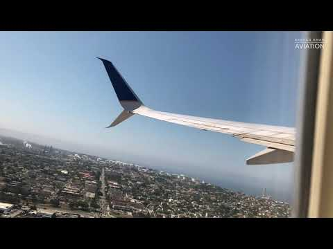 Takeoff From LAX To DEN - United Airlines Boeing 737-800