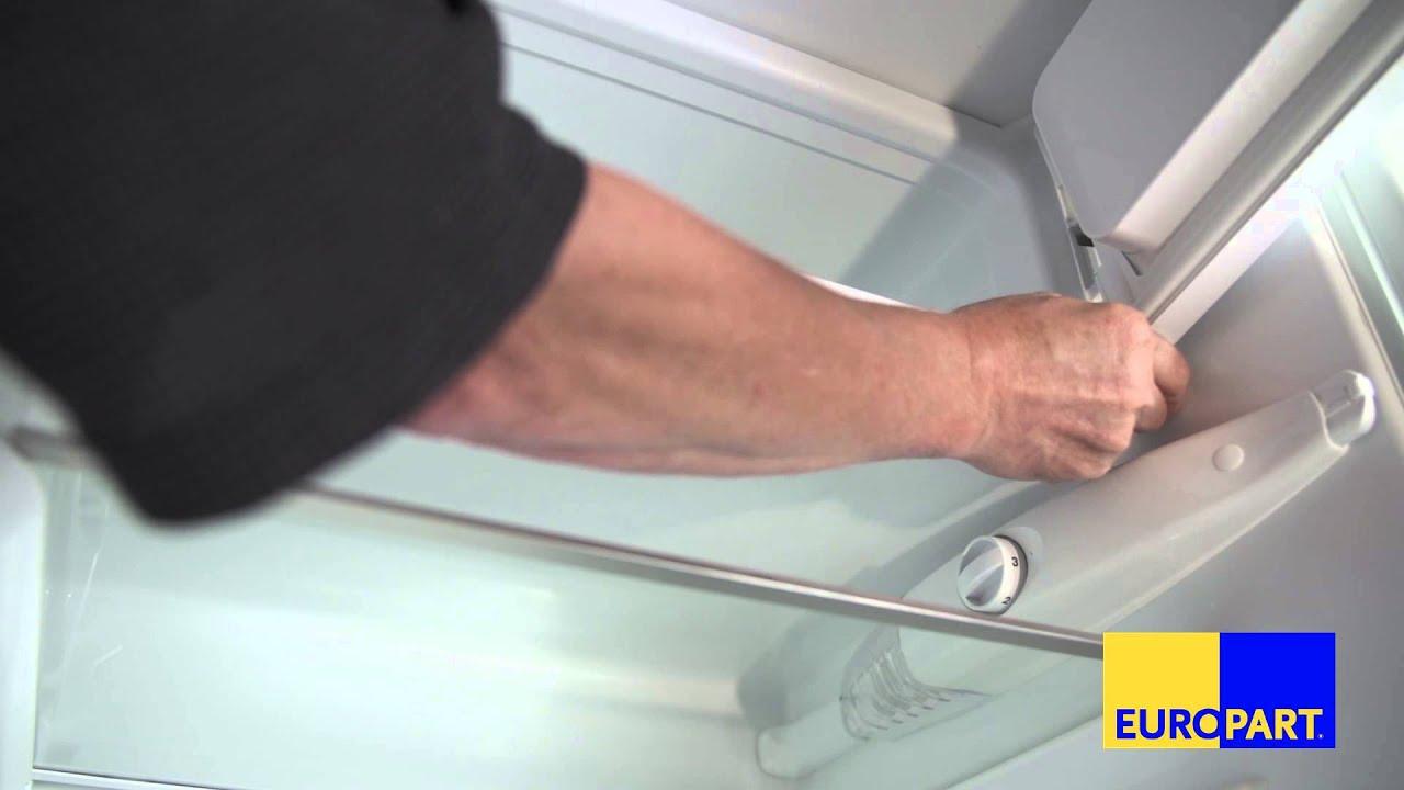 Bomann Kühlschrank Türanschlag Wechseln : Wie tauscht man eine gefrierfachtür? youtube