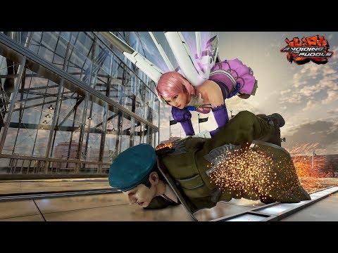 Tekken 7 Matches w/ Dragunov - ELeague Training, ft. KawaiiFaceMiles