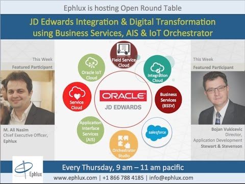 Open Round Table: JD Edwards Integration & Digital Transformation