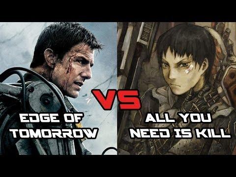 Edge Of Tomorrow Vs All You Need Is Kill - Geek World Book Club