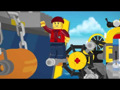 Deep Sea Photo Fishing  - LEGO City - (2D) Mini Movie