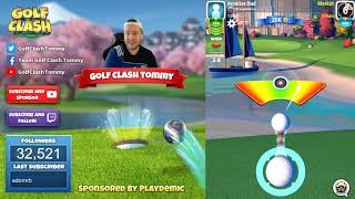 Golf Clash tips, Hole 4 - Par 4, Maple Bay -  Winter Major Tournament - ROOKIE Guide